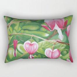 Bleeding Hearts Rectangular Pillow