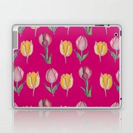 tulips in pink Laptop & iPad Skin