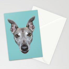 Whippet // Blue (Vespa) Stationery Cards