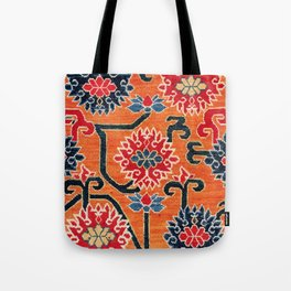 Shigatse South Tibetan Jabuye Rug Print Tote Bag