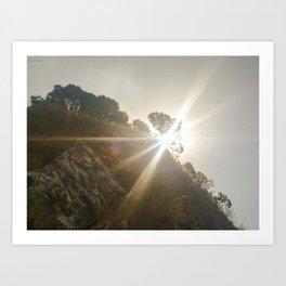 Shine Over Me Art Print