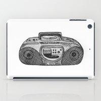 radio iPad Cases featuring Radio by Rachel Zaagman