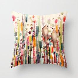 l'un pour l'autre Throw Pillow