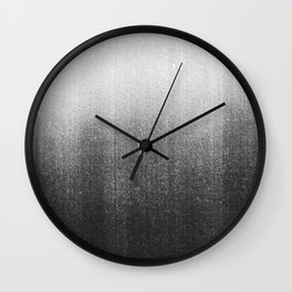 BLUR / abyss / black Wall Clock