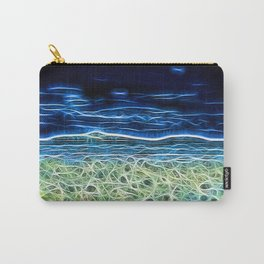 Electric Sea Carry-All Pouch