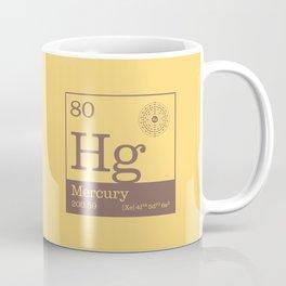 Periodic Elements - 80 Mercury (Hg) Coffee Mug