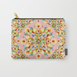 Pink Pastel Carousel Carry-All Pouch