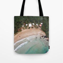 Tropical Summer Beach in The Philippines Tote Bag