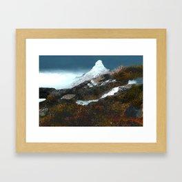 Crucible Crossing Framed Art Print