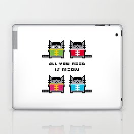 All You Need Is Meow Laptop & iPad Skin