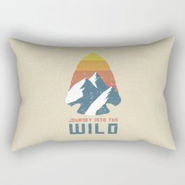 Journey Into the Wild Rectangular Pillow