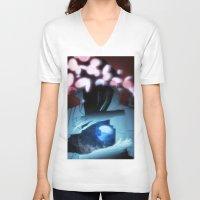 sandman V-neck T-shirts featuring Sandman by Viktor Macháček