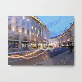 Regent Street Metal Print