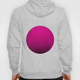 Pink ombre triangles Hoody