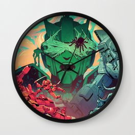 Sins of the Fathers Wall Clock