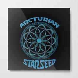 Arcturian Starseed Metal Print