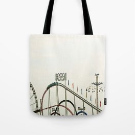 Funfair Duesseldorf Tote Bag