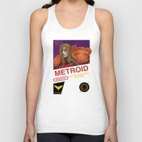 metroid Tank Tops featuring NES Metroid  by IF ONLY
