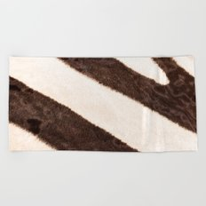 Africa - Zebra - stripes - #society6 #buyart Beach Towel