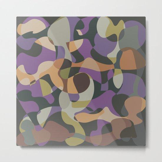 Camouflage XXXVII Metal Print