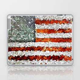 American Flag Abstract Laptop & iPad Skin