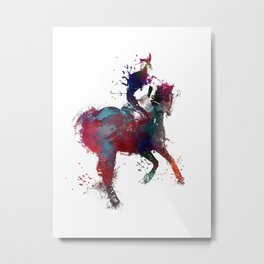 riding sport art #riding #sport Metal Print