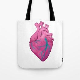 Hearts 01 - Human Heart (Transparent) Tote Bag