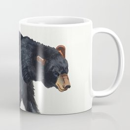 Watercolour Black Bear Drawing Coffee Mug