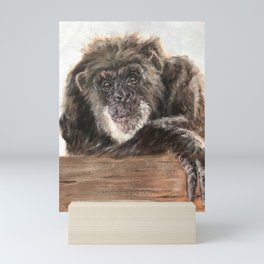 Chimpanzee Mini Art Print