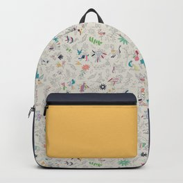 Pez Otomi yellow by Ana Kane Backpack