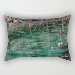 Edge of Winter Rectangular Pillow