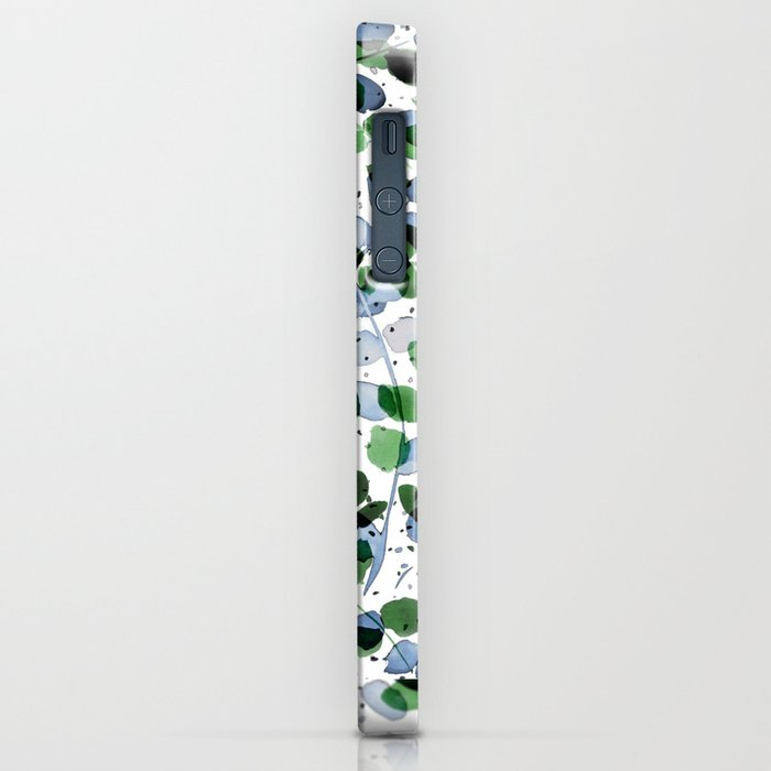 Synergy Blue and Green iPhone Case