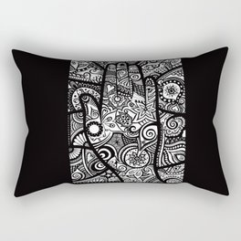 The hand of righteousness Rectangular Pillow