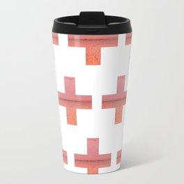 Paint Peeling Like Mars Cross Gradient Travel Mug