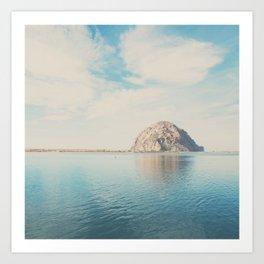 Morro Rock photograph Art Print