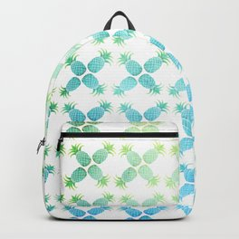 Blue Pineapples Backpack