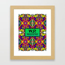 WP - Widespread Panic - Psychedelic Pattern 1 Framed Art Print