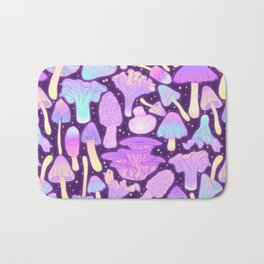 Spooky Mushroom Hunt Bath Mat