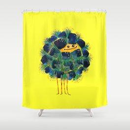 Poofy Algifu Shower Curtain
