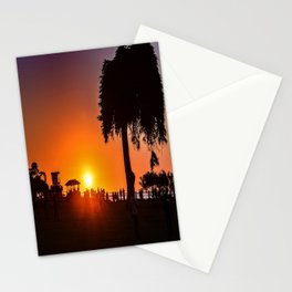 Saturday In The Park ( La Jolla Cove) Stationery Cards