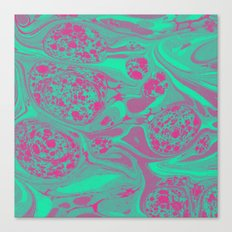Marble Space Canvas Print