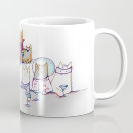 Why Cats Drink: Because Bowie Coffee Mug