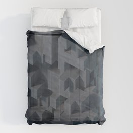 Concrete Abstract Comforters