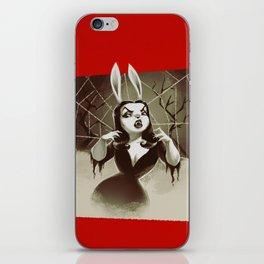 Vampirabbit iPhone Skin