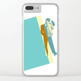 Frank Steps Out Clear iPhone Case