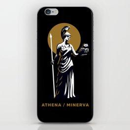Athena / Minerva iPhone Skin