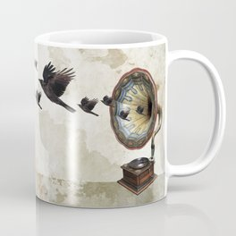 the sound of crows Coffee Mug