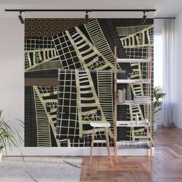 ladder, ladders abstract Wall Mural