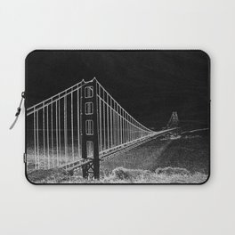 Golden Gate Abstract Laptop Sleeve