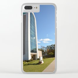 Northeastern State University - The W. Roger Webb IT Building, No. 5 Clear iPhone Case